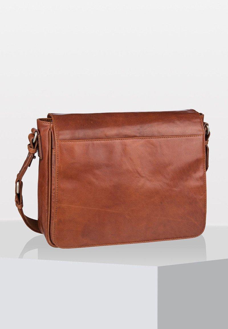 Leonhard Heyden - AUSTIN - Across body bag - cognac