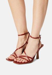 ALDO - RENDALITH - Sandals - medium red - 0