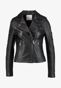 Samsøe Samsøe - Leather jacket - black - 6