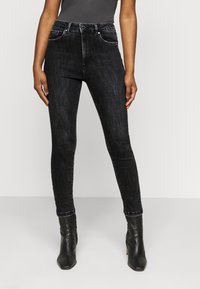 Vero Moda Petite - VMLOA  - Jeans Skinny Fit - black washed - 0