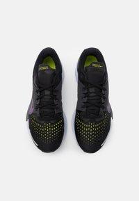 Nike Performance - AIR ZOOM VOMERO 15 - Neutral running shoes - black/dark raisin/anthracite/cyber - 3