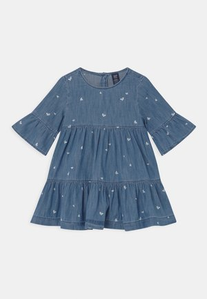 SET - Denim dress - blue denim