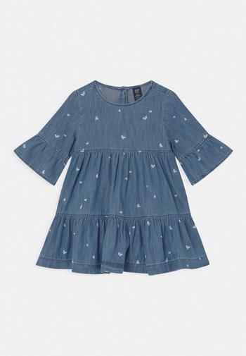 SET - Denim dress - blue denim