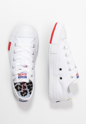 CHUCK TAYLOR ALL STAR LOGO PLAY - Tenisky - white/university red/black