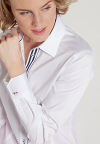Eterna - Button-down blouse - weiß - 1