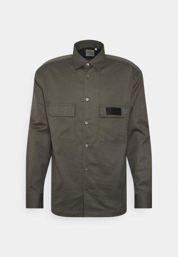 GENTS MODERN OVERSHIRT - Košile - khaki
