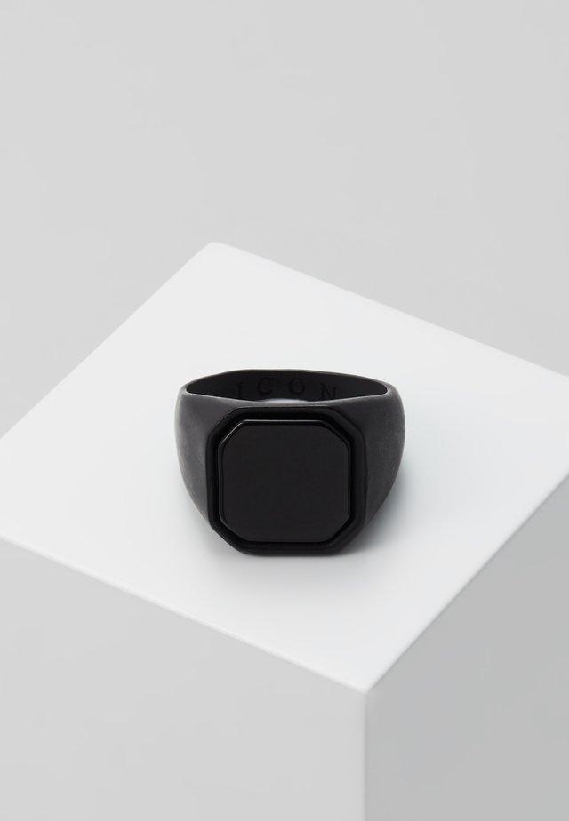 SIGNET - Prsten - black