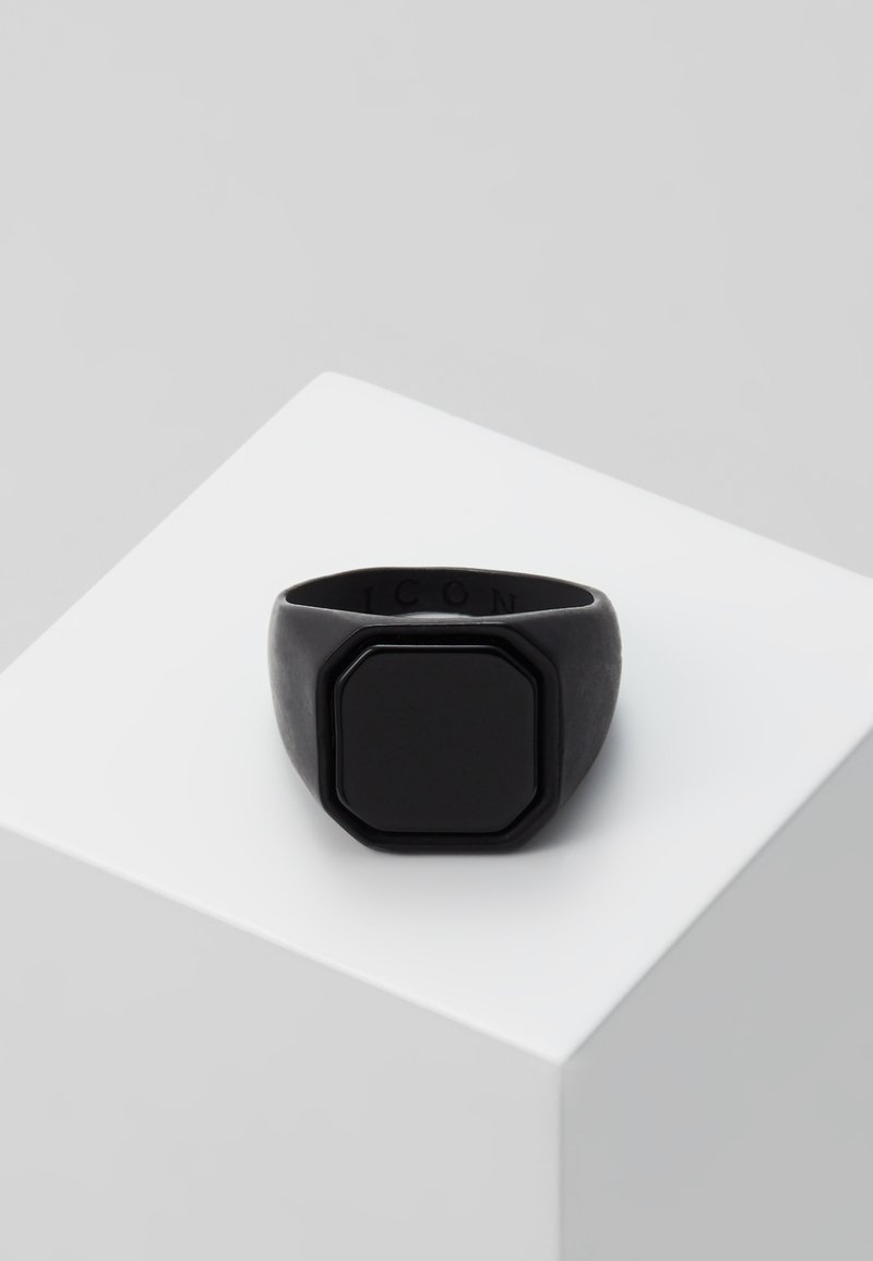 Icon Brand - SIGNET - Ring - black