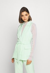 4th & Reckless - JETT JACKET - Kamizelka - mint - 0