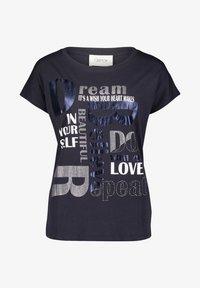 Cartoon - Print T-shirt - dunkelblau/grau - 3