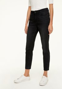 comma - MIT WASCHUNG - Jeans Skinny Fit - black - 0