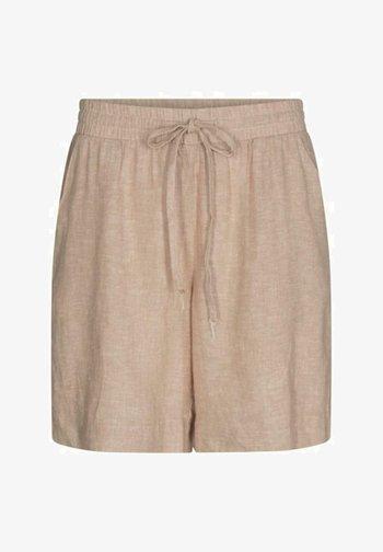 FQLAVARA-SHO - Shorts - sand melange