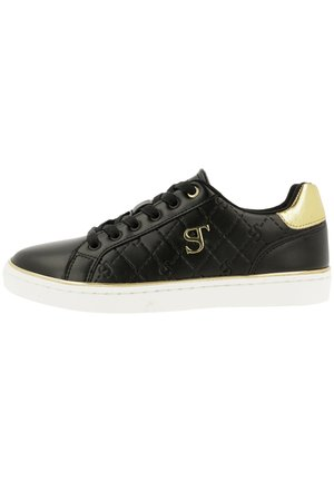 Sneakers laag - blk-gld