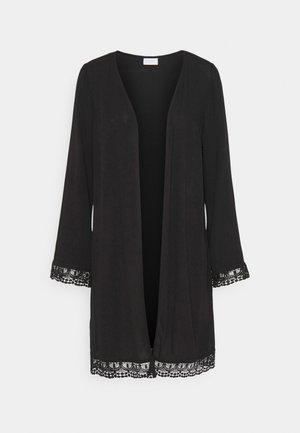 VIWINNER FESTIVAL KIMONO - Lehká bunda - black
