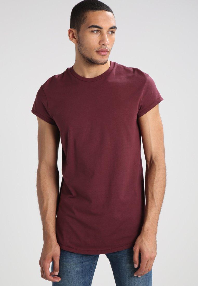 YOURTURN - Basic T-shirt - bordeaux