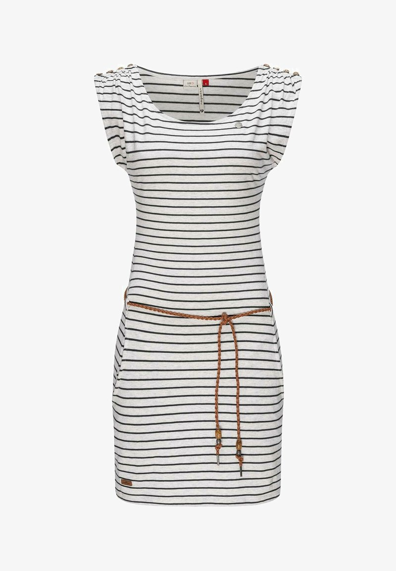 Ragwear - Jersey dress - weiß