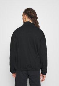 NU-IN - ZIP UP TRACK - Zip-up hoodie - black - 2