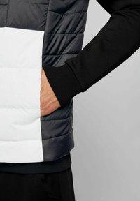 BOSS - BASALT - Waistcoat - black - 3
