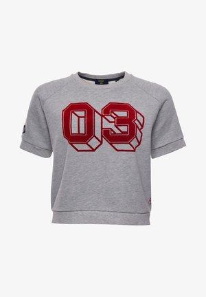 COLLEGIATE - Print T-shirt - grey marl