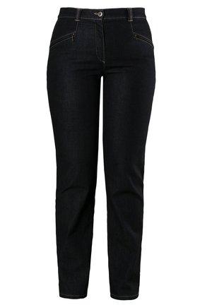 GROSSE GRÖSSEN BIS 60, MONY, STRETCH - Relaxed fit jeans - black
