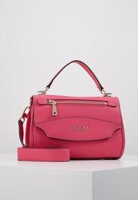 Guess - LIAS TOP HANDLE FLAP - Handbag - pink - 0
