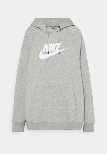 Sweatshirt - grey heather/matte silver/white