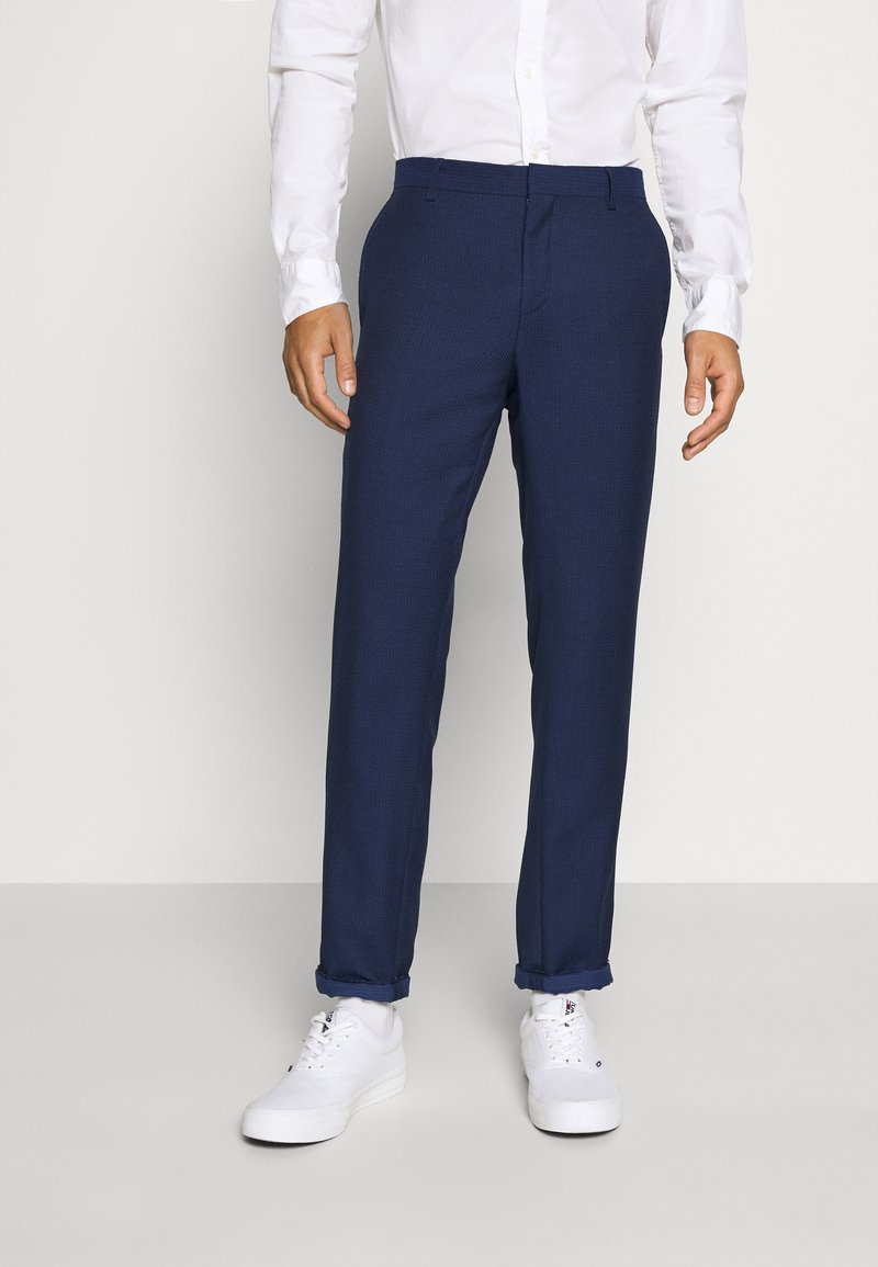 Tommy Hilfiger Tailored - MACRO SLIM FIT SEPARATE - Trousers - blue