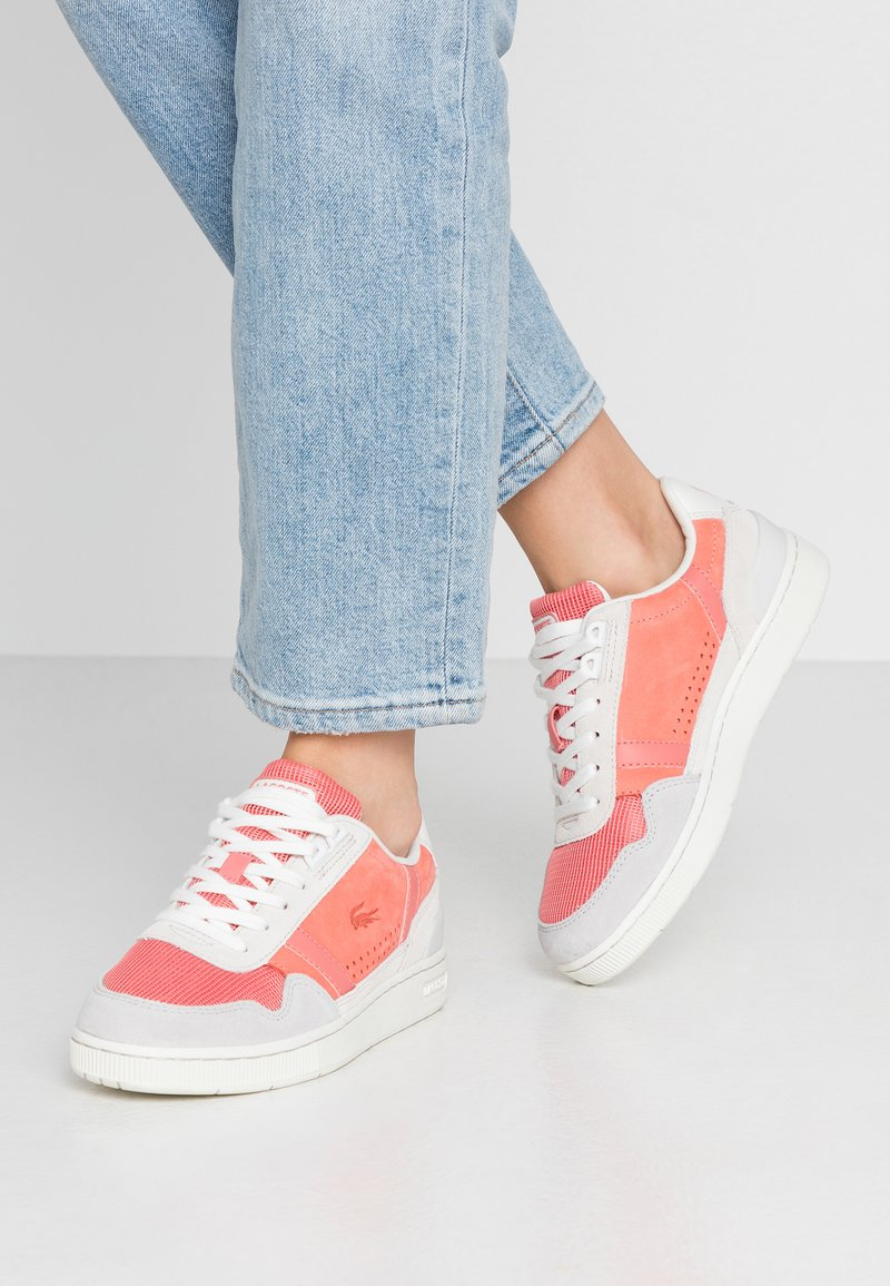 Lacoste - Trainers - white/pink