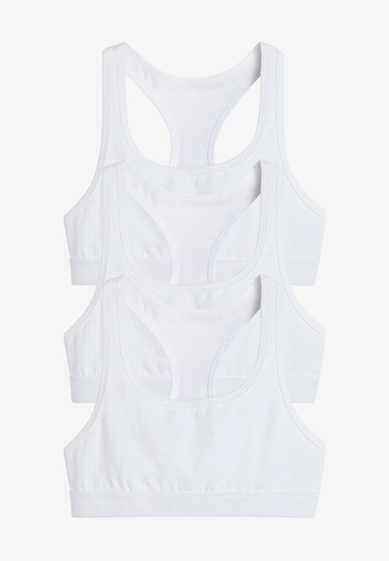 Next - 3 PACK  - Bustier - white