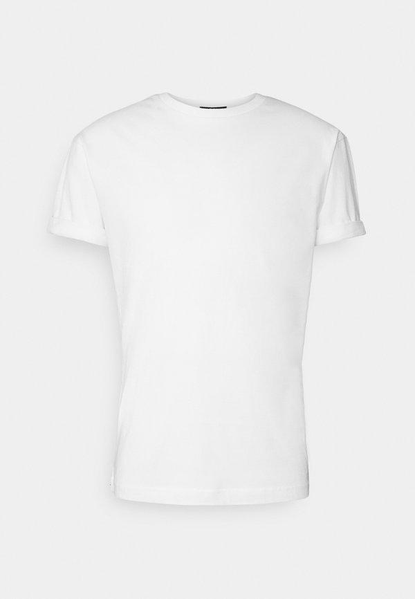Tigha ZANDER - T-shirt basic - white/biały Odzież Męska CXKK