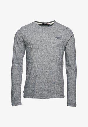 VINTAGE EMB LS  - Long sleeved top - stone grey feeder