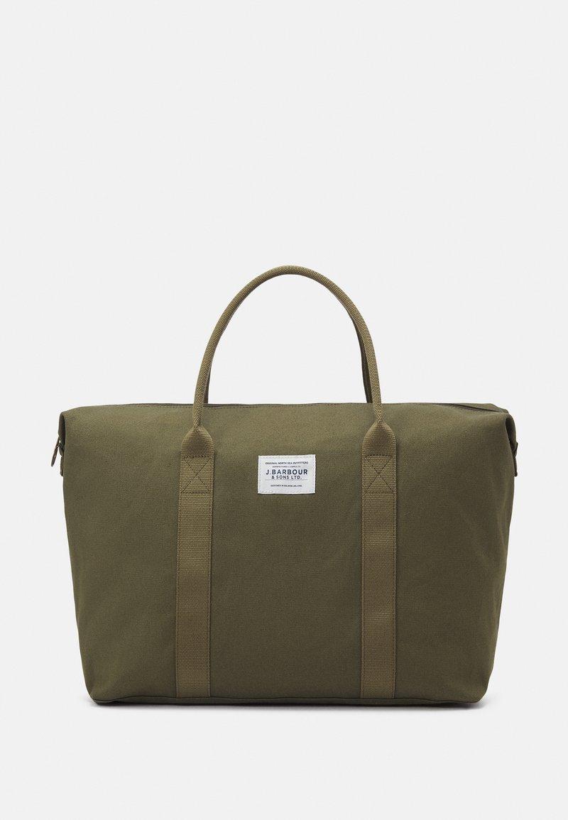Barbour - BENNET WEEKENDER - Weekend bag - khaki