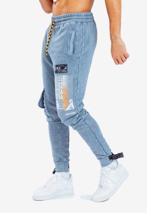 E.T  - Pantalon de survêtement - blue