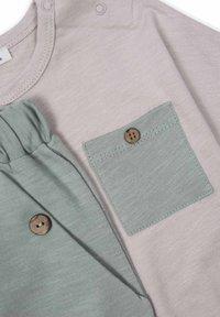 Cigit - ARRAY PATCHED POCKET - Trousers - beige - 2