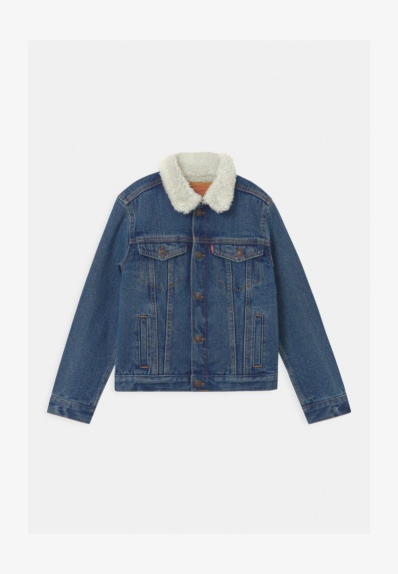 Levi's® - SHERPA TRUCKER - Denim jacket - blue denim
