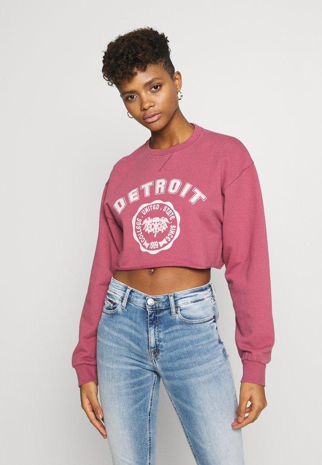 DETROIT - Sweatshirt - pink