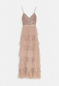 Maya Deluxe - CAMI TIERED MAXI DRESS WITH DETAIL - Occasion wear - taupe blush - 4