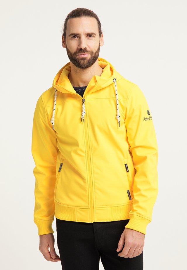 Outdoorová bunda - gelb