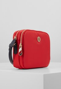 Tommy Hilfiger - POPPY CROSSOVER - Across body bag - red - 3
