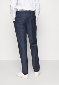 Calvin Klein Tailored - STRETCH SMALL GRID SUIT - Trousers - blue - 5