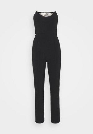 Jumpsuit - black/silver