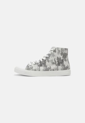 UNISEX - High-top trainers - white/grey