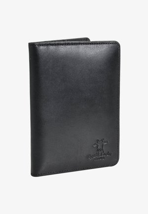 BRODIE - Obal na cestovní pas - metallic black