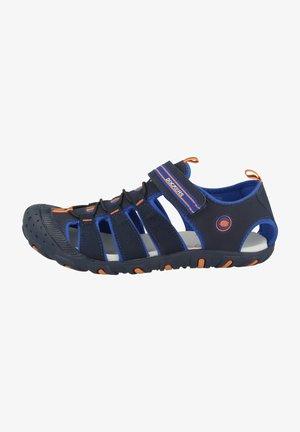 Sandals - navy-blue