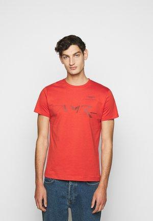 LOGO TEE - T-shirt print - burnt orange