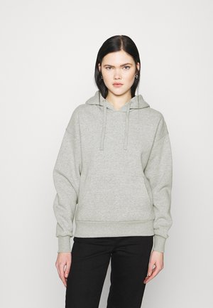 BASIC FRONT POCKET HOODIE - Hoodie - grey marl