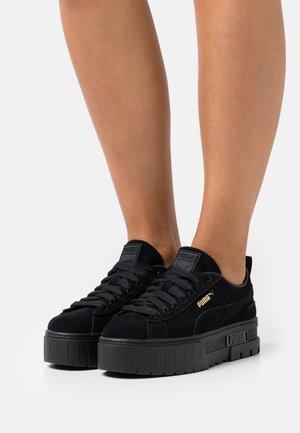 MAYZE  - Sneakersy niskie - black