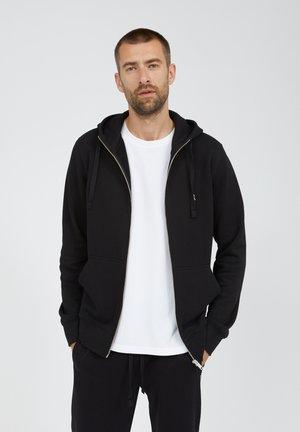 GAASTON COMFORT - Zip-up hoodie - black
