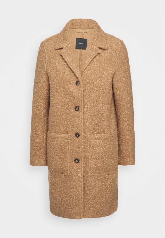 VIEVE - Classic coat - roasted hazel