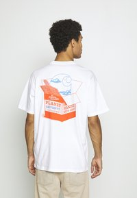 Carhartt WIP - LOVE PLANET - Print T-shirt - white - 2